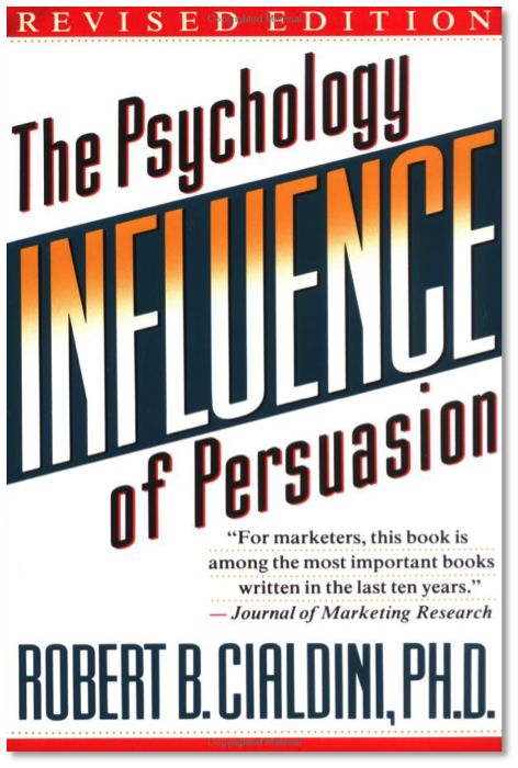 Image result for influence the psychology of persuasion""