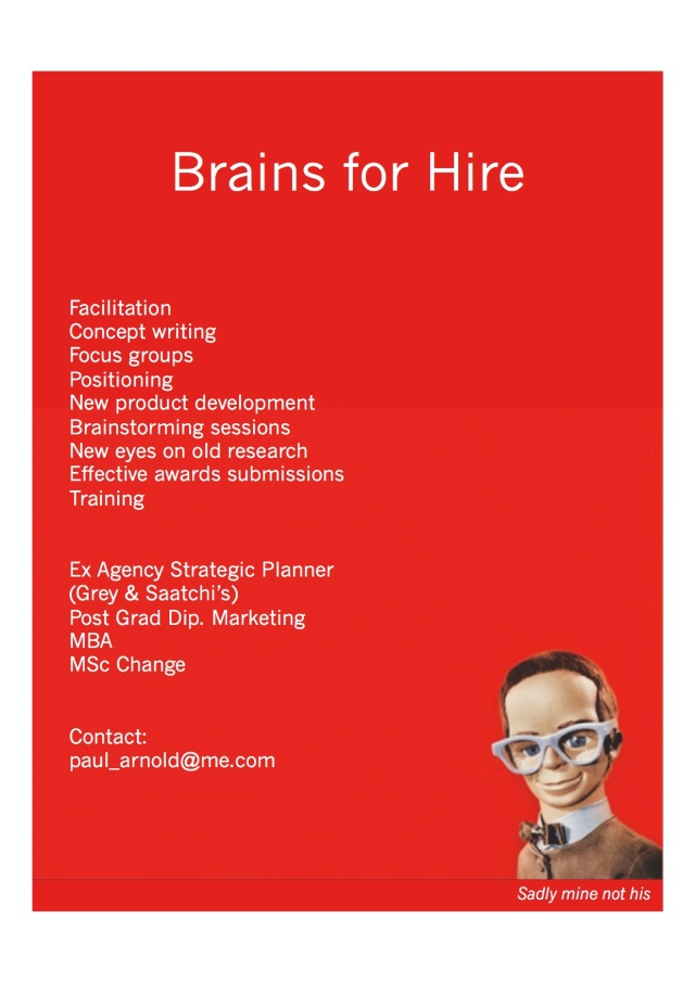 Brain for hire copy